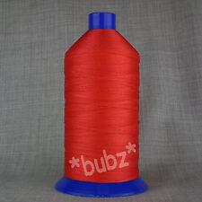 Unión de nylon fuerte Hilo de Coser 20s Grande 3,000m Carrete Reparación de Cuero Rojo 20 Tkt