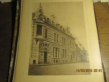 Planche Morgue, dépôt mortuaire et poste de police Bruxelles-Vue Quai Barqu 1898