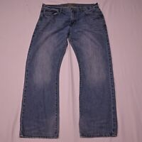 American Eagle 36 x 32 Original Boot Cut Light Wash Denim Jeans
