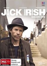 JACK IRISH: Season 1 DVD TV SERIES DRAMA Guy Pearce BRAND NEW RELEASE 2-DISCS R4