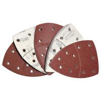 40 Stück 11 Löcher Selbstklebender Schleifpapier-Dreieckschleifer Papierhakensch