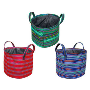 Large Collapsible Laundry Basket Clothes Toys Storage Bag Bin Barrel for Outdoor