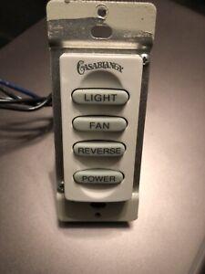 Casablanca W-32 Ceiling Fan Wall Control Switch