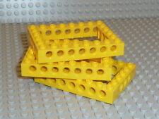 LEGO® Technic 3x Lochbalken 6x8 40345 in gelb aus 7900 7344 F1071