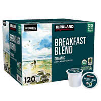 Kirkland Signature Coffee Breakfast Blend Recyclable K-Cup Pods, 120-count (1158
