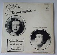Sylvia Rexach En La Voz De Juan Luis En Tu Memoria REX LPS-1001 LP VG+ #2684