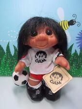 "Soccer Player - 7"" Dam Things Troll Doll - New In Original Bag - Rare - Last 1s"