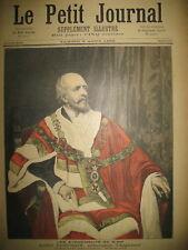 SIAM LORD DUFFERIN AMBASSADEUR COTE D'IVOIRE PAÏ-PI-BRI LE PETIT JOURNAL 1893