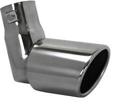 Tubo De Acero De Escape Recortar abajo gota Silenciador Tubo De Escape Punta coche diesel 55 mm EX15
