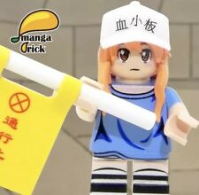 *Pre-order* MANGA BRICK Custom Cells At Work Platelet Lego Minifigure, ETA 12/30