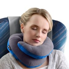 Maximum Chin Adult Gray Travel Comfort Pillow|Supports Head & Neck When Sitting!
