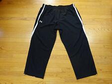 Men's Under Armour Black/White Pants Size 3XL