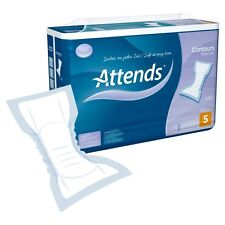 Attends Regular Contours No 5 Pkt of 42. Incontinence Pads