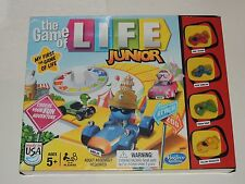 THE GAME OF LIFE JUNIOR BOARD GAME *NEW* HASBRO