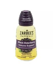 Zarbees Naturals Black Elderberry Immune Support Dietary Supplement EXP 3/22