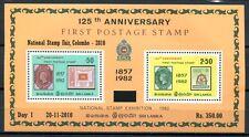 Sri lanka 2010 bloque 20 i sellos inscripciones Stamps colombo post frescos mnh rar