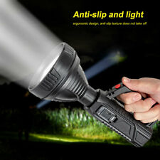 Powerful LED USB Camping Searchlight Handheld Torch Flashlight Lamp Spotlight
