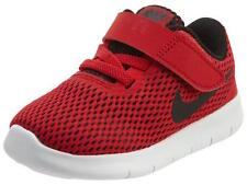 Size 2 Toddler/Infants Nike Free Run (TDV) Light Weight 833992 600 Black/Red