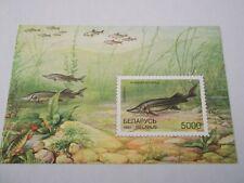1997 Belarus Fishes M/S m/m Mi.231, Z36