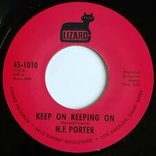N F Porter - Keep On Keeping On - Lizard - NORTHERN SOUL 45 - Recent Reissue