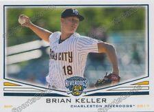 2017 Charleston RiverDogs Brian Keller RC Rookie NY Yankees