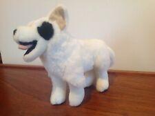 White Wolf/Husky Type Dog Soft Toy 23cm VGC
