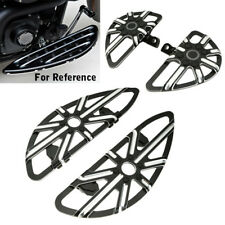 Combo Stretched Front Driver Rear Passenger Floorboards For Harley Touring