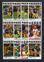 2004 Topps Green Bay Packers TEAM SET - Brett Favre