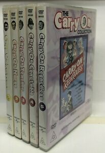 Carry On 1 - 5 Collection - DVD - AusPost with Tracking