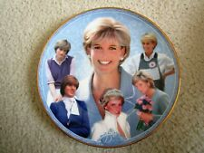 Danbury Mint ~ Royal Worcester ~ Diana Plate ~ The People's Princess ~ B7724