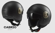 Casco Jet Ls2 Of597 Cabrio Matt Carbon L