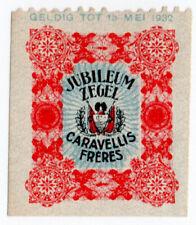 (I.B) Netherlands Cinderella : Caravellis Brothers Tobacco Seal (Jubilee)