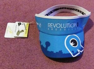 REVOLUTION 3 KNOXVILLE HEADSWEATS ADULT SIZE SUPER VISOR - NEW WITH TAGS