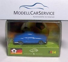 "Wiking Sondermodell : VW Karmann Ghia ""Football France"", bleu"