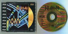 Def Leppard CDV CD-video Love Bites © 1988 UK 3x audio + 1x video track 080 458-2