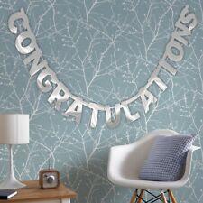Large Congratulations Banner Garland Bunting Anniversary Baby Engagement Wedding