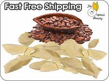 1 oz - 55 lbs Raw 100% Pure Unrefined Natural Fresh Cold Pressed Cocoa Butter
