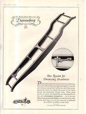 1929 Original Duesenberg Ad - Chassis