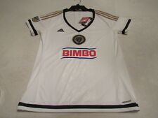 NWT ADIDAS WOMENS PHILADELPHIA UNION MLS SOCCER JERSEY LARGE WE ARE ONE