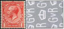 1924 KGV Block Cypher 1d WATERMARK SIDEWAYS SG 419a - Unmounted mint