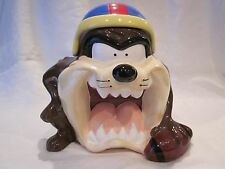 Gibson Looney Toons Tazmanian Devil with Football Cookie Jar
