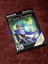 Elven Legacy Collection (PC-DVD) BRAND NEW!!! Original game + All 3 Expansions!!