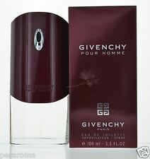 Givenchy by Givenchy Pour Homme Eau De Toilette 3.3 OZ  for Men NEW