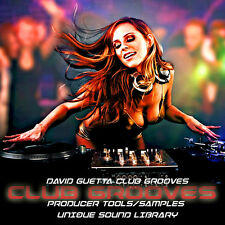 David Guetta Club Grooves - HUGE UNIQUE PRODUCTION SOUND LIBRARY 1.45GB on DVD
