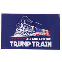 10PCS/set Blue Donald Trump Bumper Sticker 2020 All Aboard The Trump Train RF