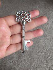 Set of 40 Antique Silver Key Bottle Opener Steampunk Wedding Favor Bridal Shower