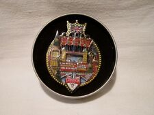 Charles Fazing NBC 2012 London Olympic Pin # 1 with Tin Extremely Rare Edition #