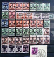 Gestempelte Briefmarken aus dem Generalgouvernement (bis 1945) Sammlungen
