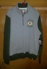 NWT NFL Green Bay Packers 1/4 Zip Sweatshirt Size Mens Xl