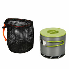 1.2L Portable Anodized Aluminum Pot Efficient Heat Transfer Camping Cookware Set